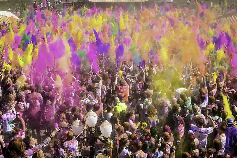Holi, Best Festivals in the World