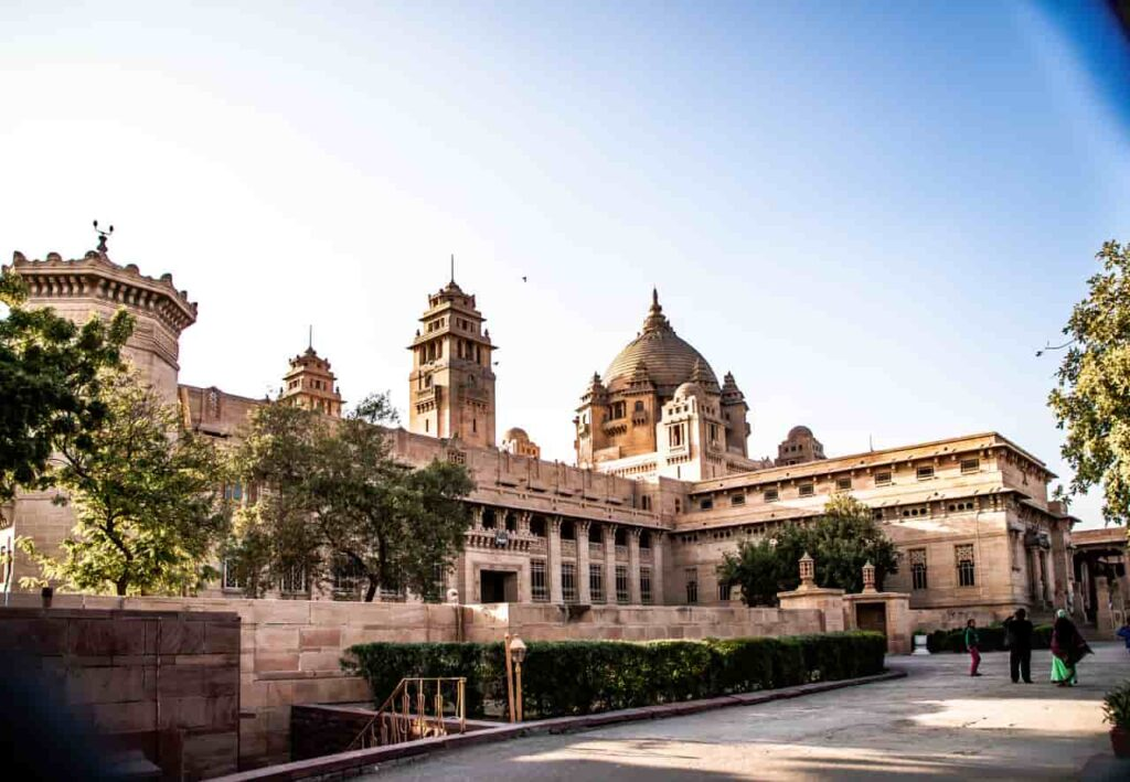 Rajasthan itinerary - 7 / 10 days. Umaid Bhavan Palace