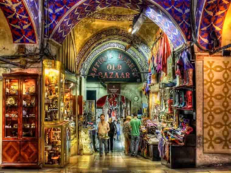 Grand Bazaar, Istanbul, Europe Bucket List